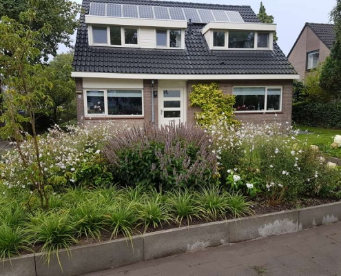 Tuinrenovatie in Rosmalen