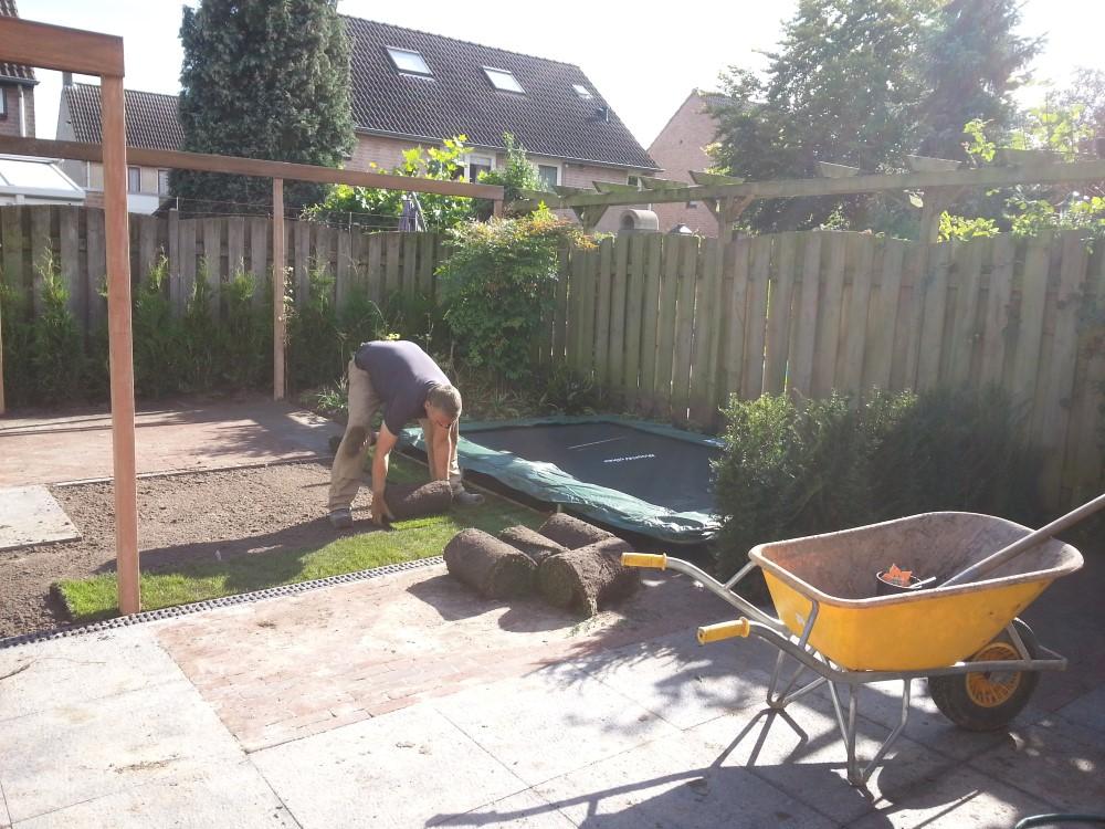 Gazon leggen - tuinontwerp Den Bosch