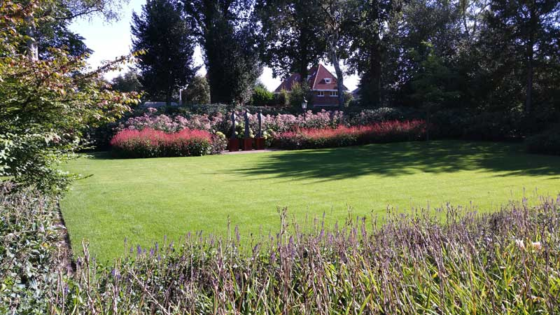 Klassieke tuin ontwerp