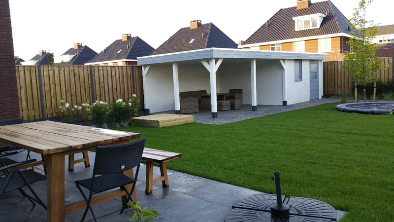 Multifunctionele tuin in Rosmalen