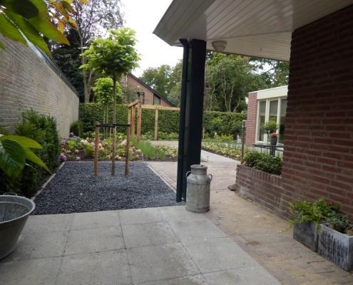 Privé en zakelijke tuin in Oss