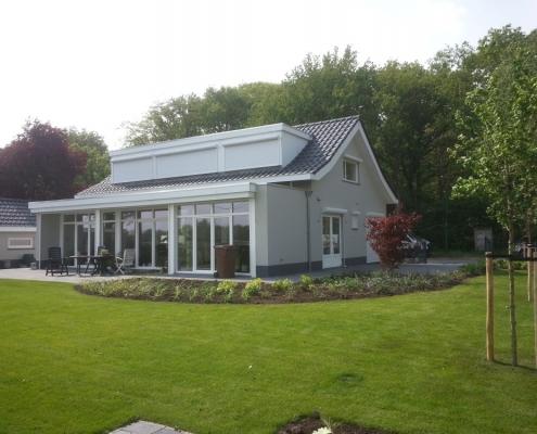 Tuinontwerp met terras in Breda