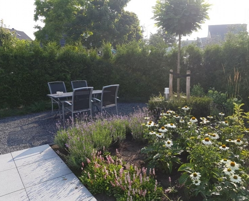 Tuin met privacy
