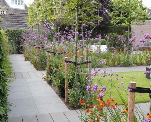 Beplanting tuin Oss
