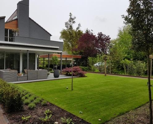 Tuinrenovatie villa Rosmalen