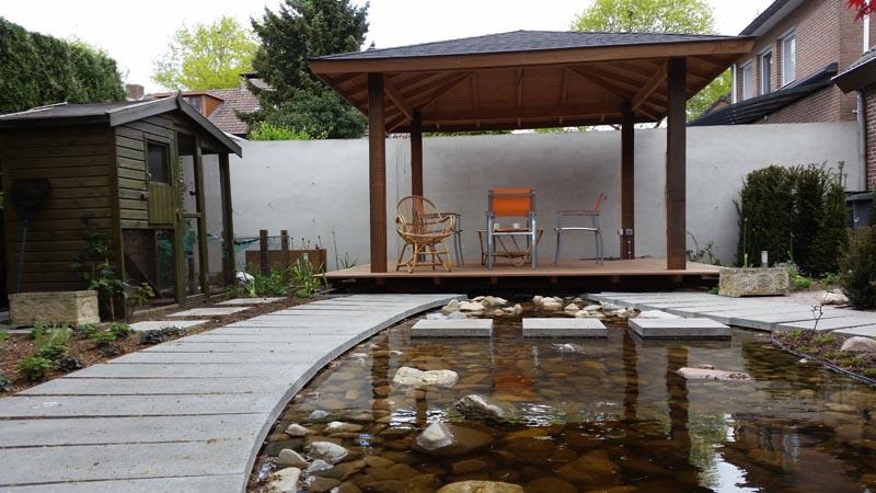 Renovatie watertuin Oss