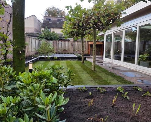 Moderne tuin in Cromvoirt