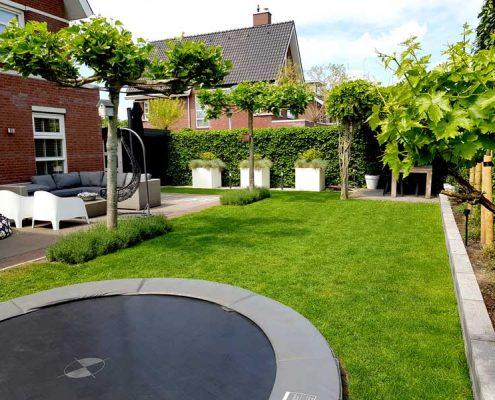 Tuinrenovatie achtertuin Rosmalen