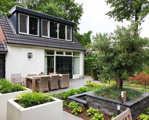Luxe tuin in Rosmalen