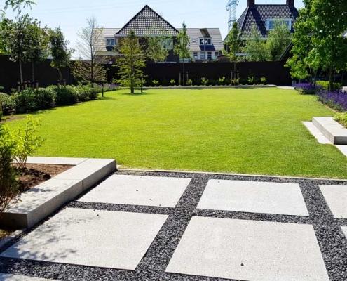 Villatuin aanleggen De Groote Wielen