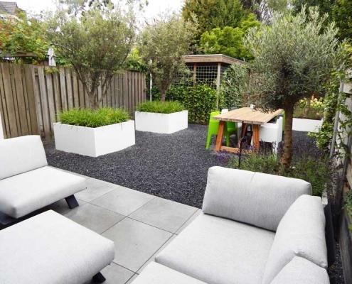 Onderhoudsvriendelijke tuin Den Bosch